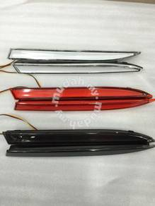 Myvi alza light bar rear bumper led reflector