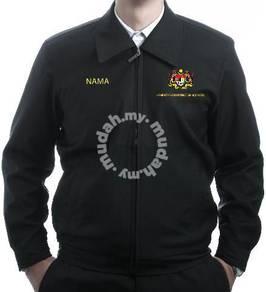 Jaket Korporat warna Hitam, Brand Stava