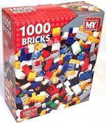 Lego Brick 1000 Pieces