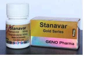 Geno pharma stanavar muscle lean cutting fitness