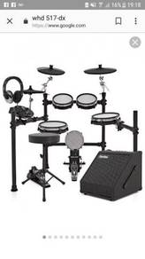 Electronic Drum Kit WHD 517-DX