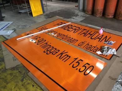 Aluminium composite panel 4� X 12� x 3 mm