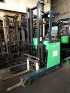 Japan TOYOTA Battery Reach Truck Forklift 1.5 Ton