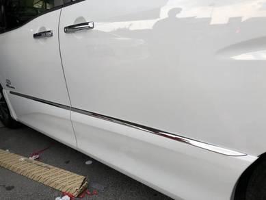 Nissan serena door panel moulding lining chrome