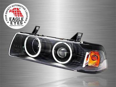 BMW E36 4D Projector Cool Look Head Lamp 92-99