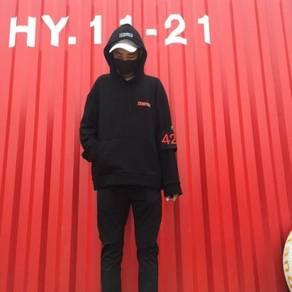 424 men and women hooded sweater