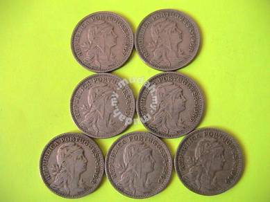 Portugal - 50 centavos 1962-68 - liberty head