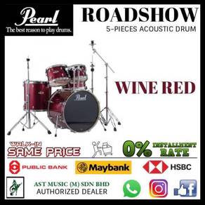 Pearl Roadshow Wine Red Acoustic Drum