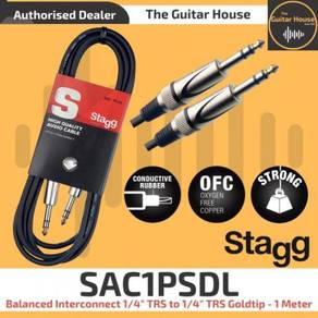 Stagg SAC1PSDL Balanced Interconnect Cable 1 Meter