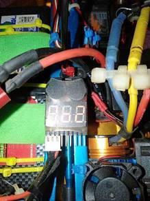 Battery voltage buzzle alarm