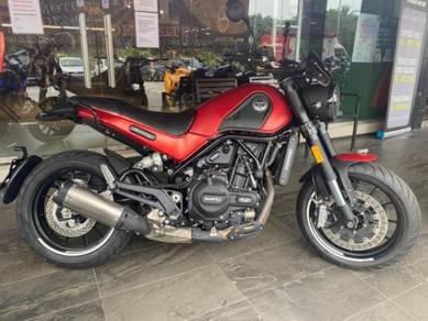 Benelli Leoncino 500 Deposit 430 Siap Keluar Motor