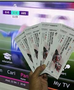 Tiket Maingrandstand K1 VR 46 Grandstand F Ticket