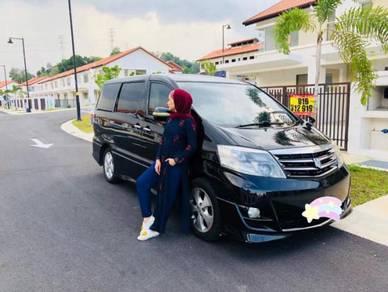 Toyota Alphard for rent