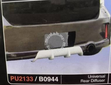 Universal rear diffuser pu2133 no paint tak cat