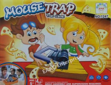 Clearance! Mouse Trap IQ Game Steal Cheese