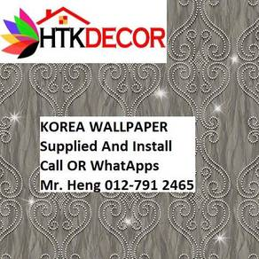 HOToffer Wall paper with Installation 56FV