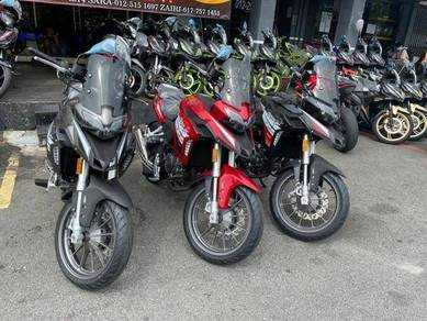 Benelli TRK251 ABS Promotion CNY,Deposit Rendah
