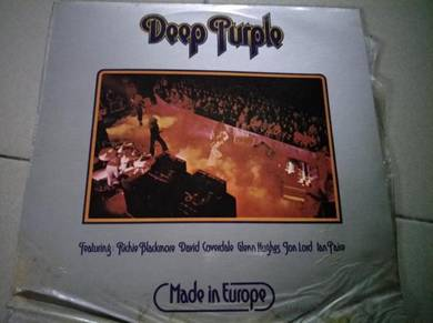 Piring Hitam LP Deep Purple