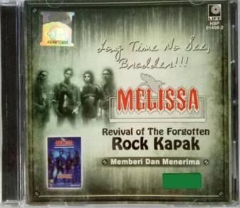 CD Melissa Revival Of The Forgotten Rock Kapak