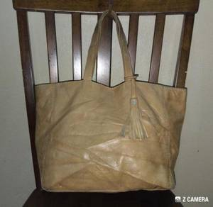 Tote Bag Leather Loxwood Cabas Parisien