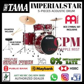 Tama Imperial Star CPM Acoustic Drum Meinl Cymbal