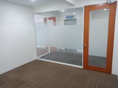 Galleria cyberjaya office space spacious v carpet partician++