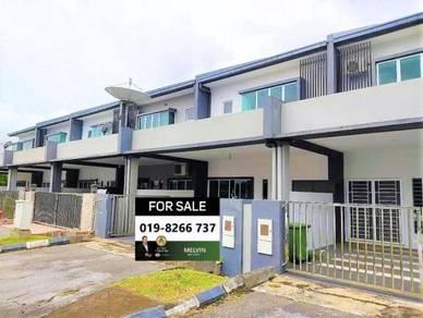 New Double Storey Terrace House At Midway Crescent Kota Samarahan