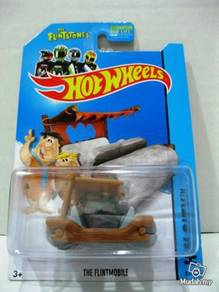Hotwheels The Flintstones The Flintmobile #83 Wood