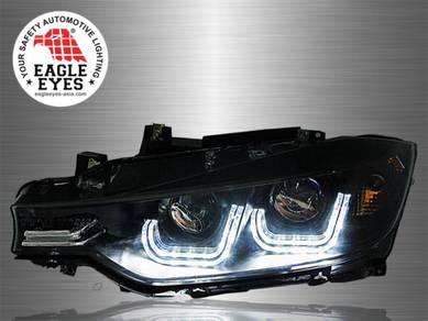 BMW F30 Projector U Concept Head Lamp 13-17