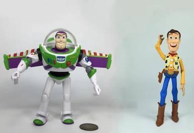 Sound Woody Buzz Lightyear Toy Story 2pcs