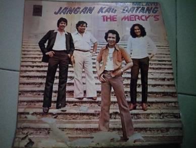 Piring Hitam LP Melayu The Mercys Jangan kau datan