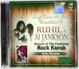 CD Ruhil & Ai Jankson Rock Kapak Cinta Pertama