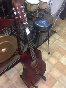 Rcstromm Acoustic Guitar ( Brown )