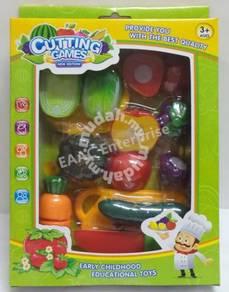 Fruit & Vegetabale Cut Set - Early Educational Toy