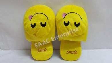 Indoor Smile Emoji Office Home Bedroom Slipper