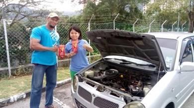 Enjin Senyap, Jimat Minyak dan Tambah Pickup