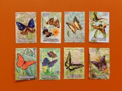 Butterflies Definitives 1970 B486