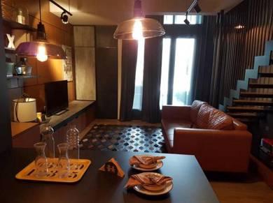 TWY Duplex Condo, mont kiara, fully furnished cheap unit
