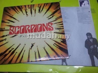 Scorpions FACE THE HEAT 1993 Mercury LP