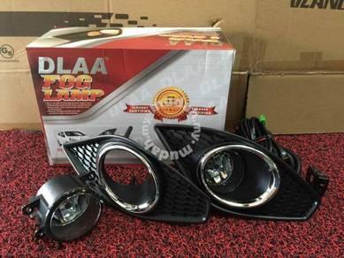 Perodua axia oem fog lamp with chrome dlaa