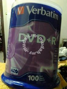 Verbatim DVD-R 100-pack