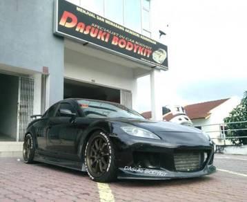 Bodykit And Spoiler Mazda Rx8 Mazda Speed