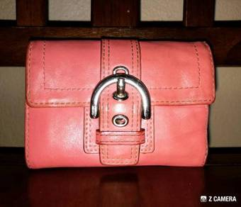Wallet Leather COACH
