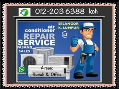 Servicing Aircond 7 days/w air con SEL&KL AIR COND