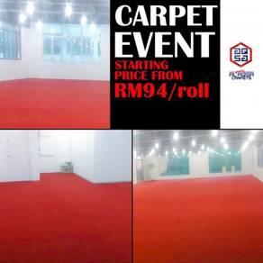 Promosi event carpet kini berlangsung