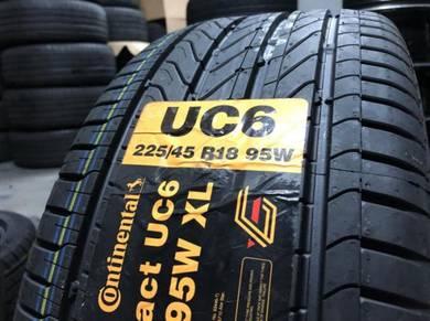 Tayar baru continental UC6 new tyre 225 45 18
