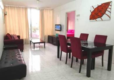 CNY DEAL ! Taman Kristal Krystal FULLY FURNISHED & RENO Tanjung Tokong