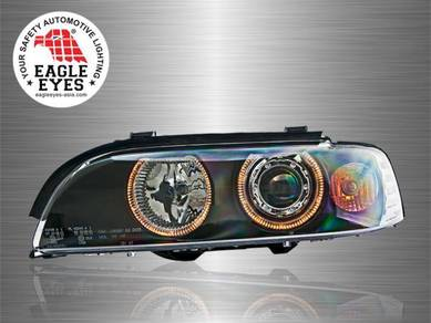 BMW E39 Projector LED Angle Eyes Head Lamp 95~03