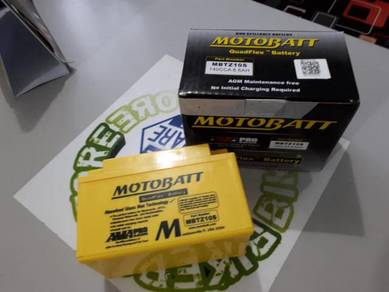 NEW Motobatt MBTZ10S / YTZ10S quadflex battery