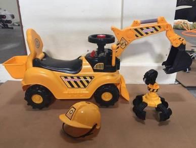 Children Excavator Digger Car Toy XL Size